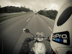 camera embarquee moto